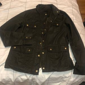 J.Crew downtown field jacket - green size small